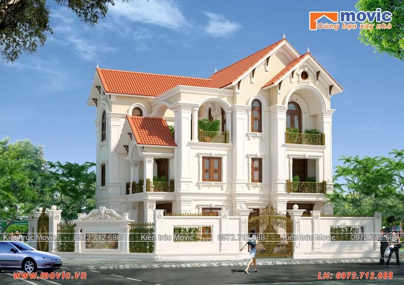 Kiến trúc Biệt thự hiện đại mang vẻ sang trọng, lịch lãm và đẳng cấp