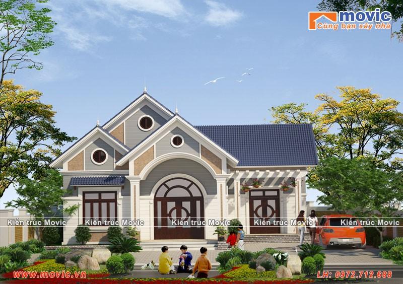 Ngôi nhà phù hợp với những diện tích đất nhỏ