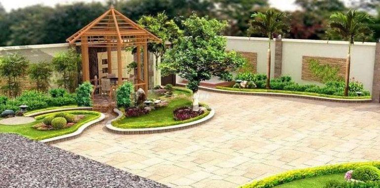 Nhà ở kết hợp sân vườn