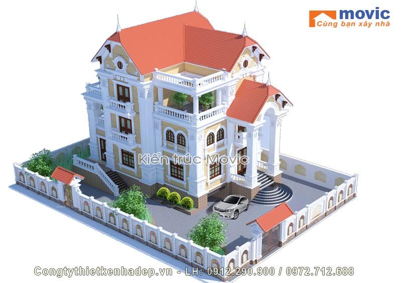 Thiết kế biệt thự lâu đài là gì?