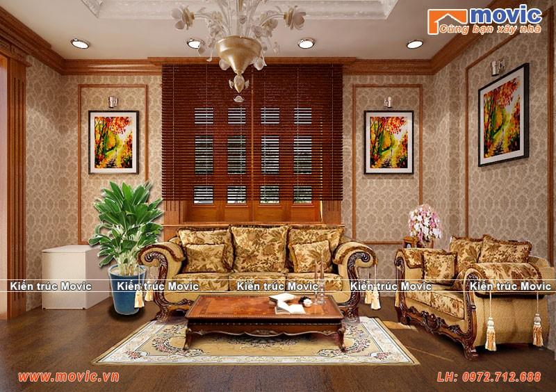 Thiết kế nội thất biệt thự cổ điển luôn đem lại sự sang trọng và đẳng cấp