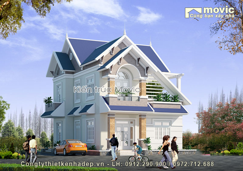 Dinh thự 3 tầng (ông Hiểu - Hà Đông, Hà Nội)