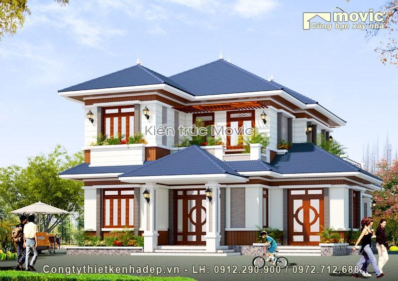 Biệt thự 2 tầng (ông Thanh - Văn Giang, Hưng Yên)