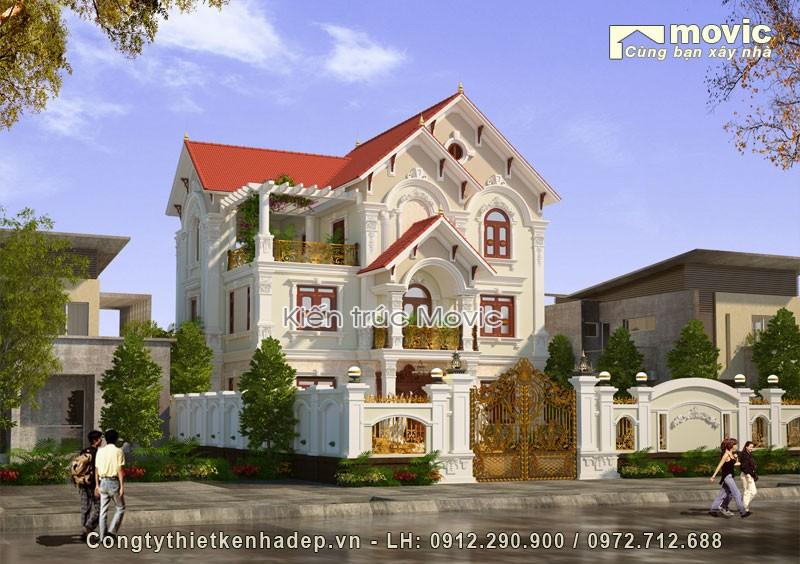 Biệt thự vườn 2 tầng (ông Khánh - Thái Nguyên)