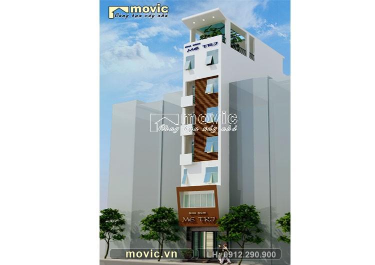Nhà lô phố hiện đại 8 tầng LP1612