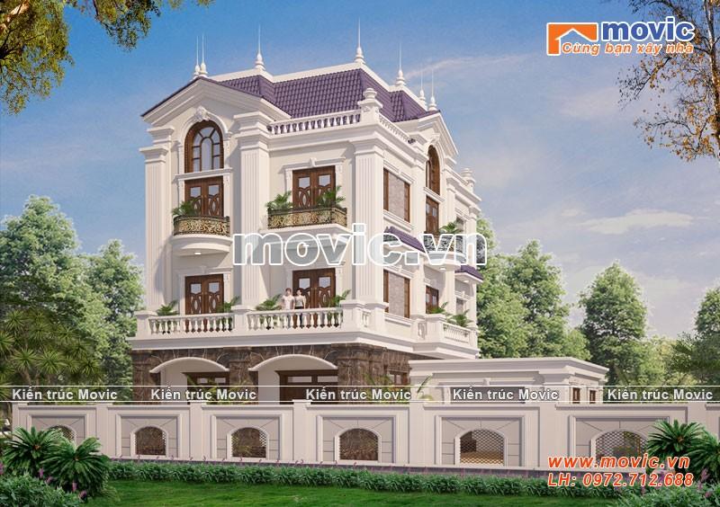 Công trình được thiết kế cho Ông Chắm ở Bắc Ninh