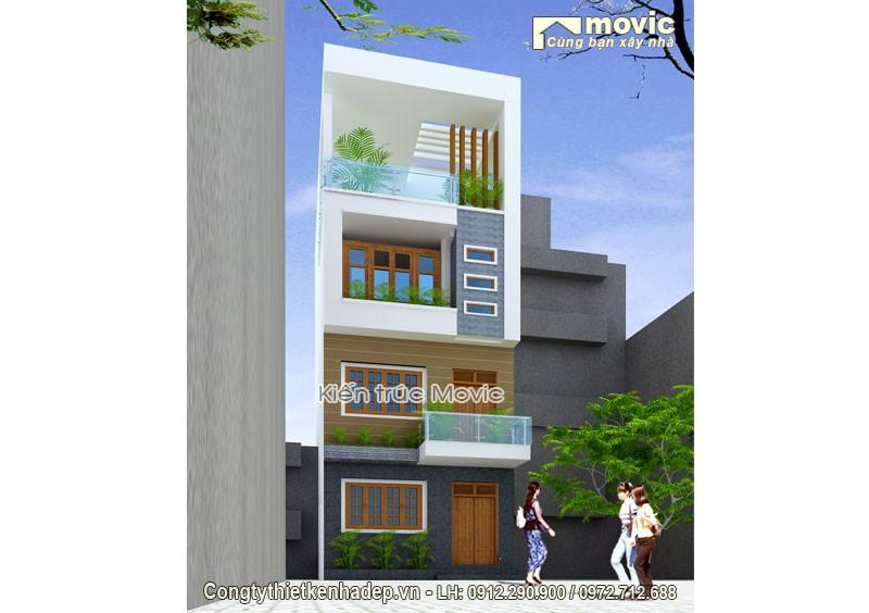 Mẫu thiết kế nhà phố MP1611