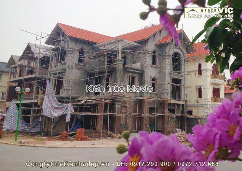 Biệt thự 3 tầng ông Nam (KĐT Linh Đàm - Hà Nội)