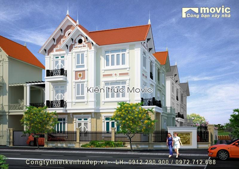 Biệt thự 3 tầng ông Tuấn (Hoàng Mai - Hà Nội)