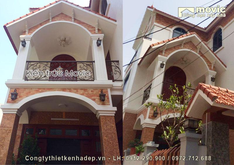 Biệt thự 3 tầng ông Hưng (Địa chỉ: Gia Lâm - Hà Nội)