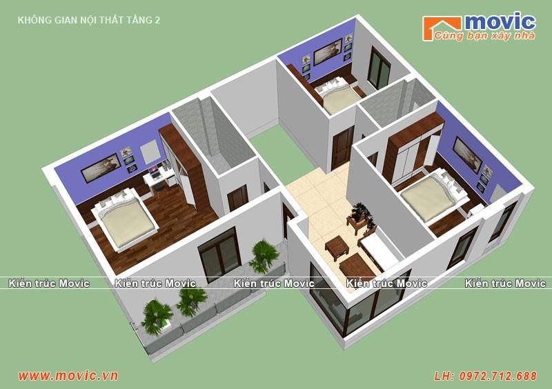 Thiết kế nội thất tầng 2