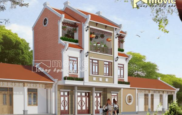 Nổi bật nhất khu phố với kiến trúc cổ xưa