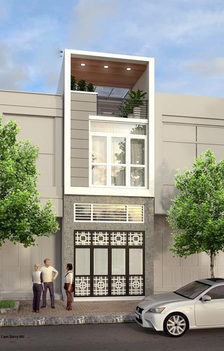 Mẫu thiết kế nhà phố 5x20 được nhiều người quan tâm