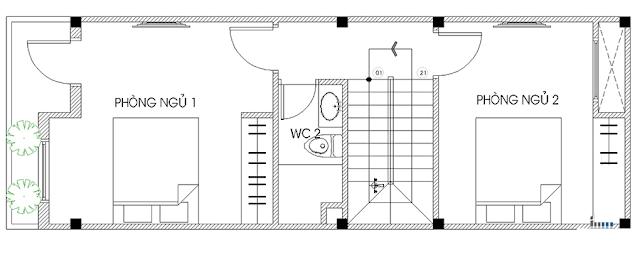 Giải pháp thiết kế tầng 2