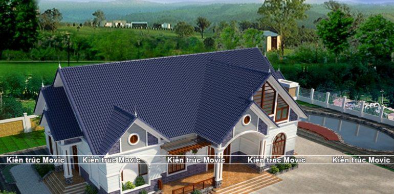 Tổng quan nhà vườn thái mái của gia đình ở Thái Nguyên