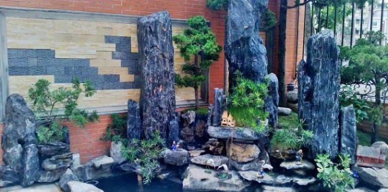 Hệ tiểu cảnh trong nhà vườn Á Đông