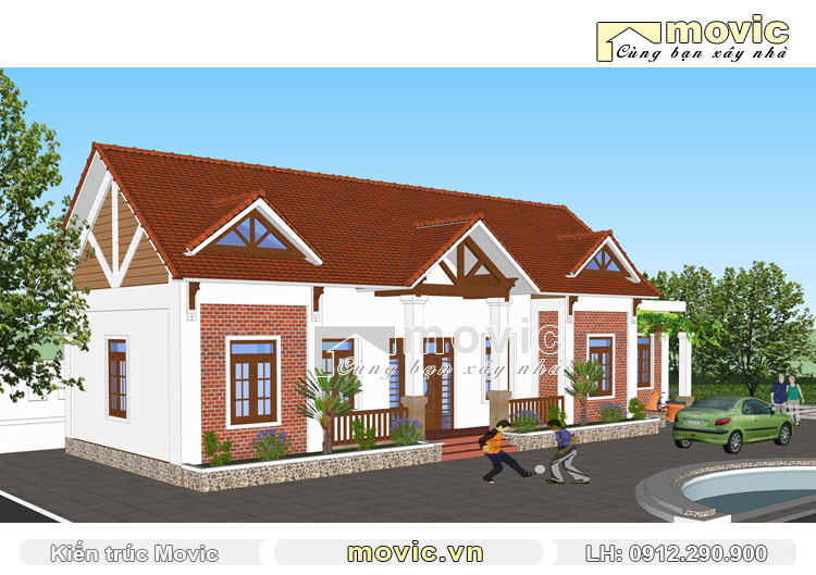 Tổng thể công trình nhà