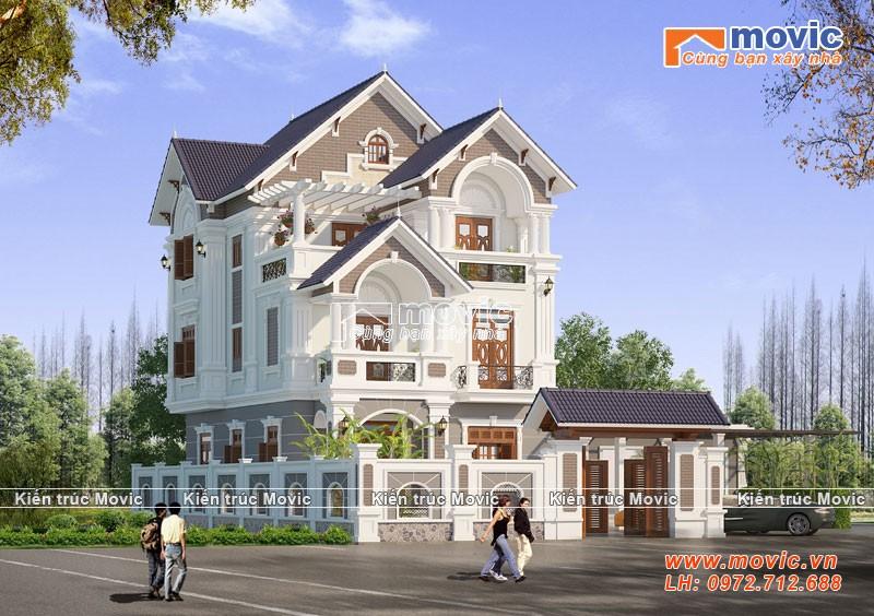 Ngôi nhà với lối thiết kế cổ điển