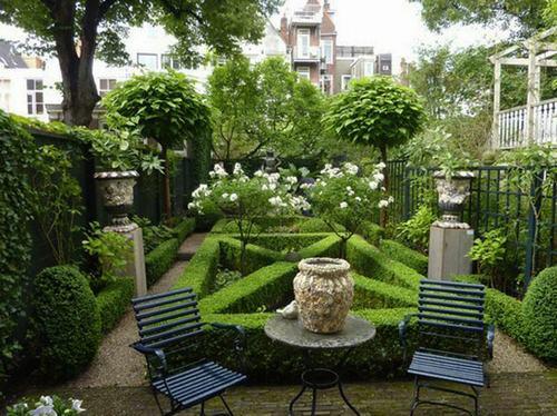 Mẫu nhà vườn phong cách Châu Âu đẹp - MS1