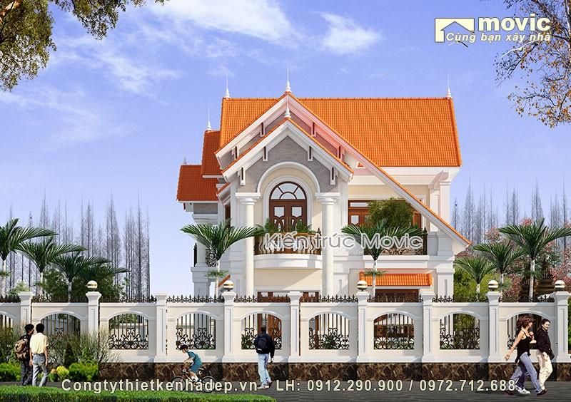 Nhà biệt thự hiện đại 2 tầng đẹp