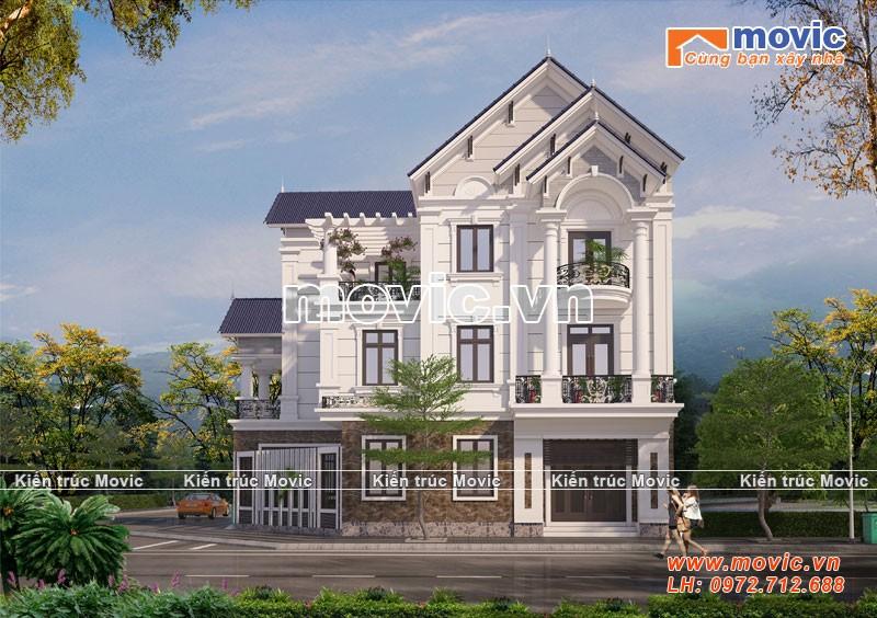 Ngôi nhà thích hợp với những khu đất hẹp, nhà mặt phố