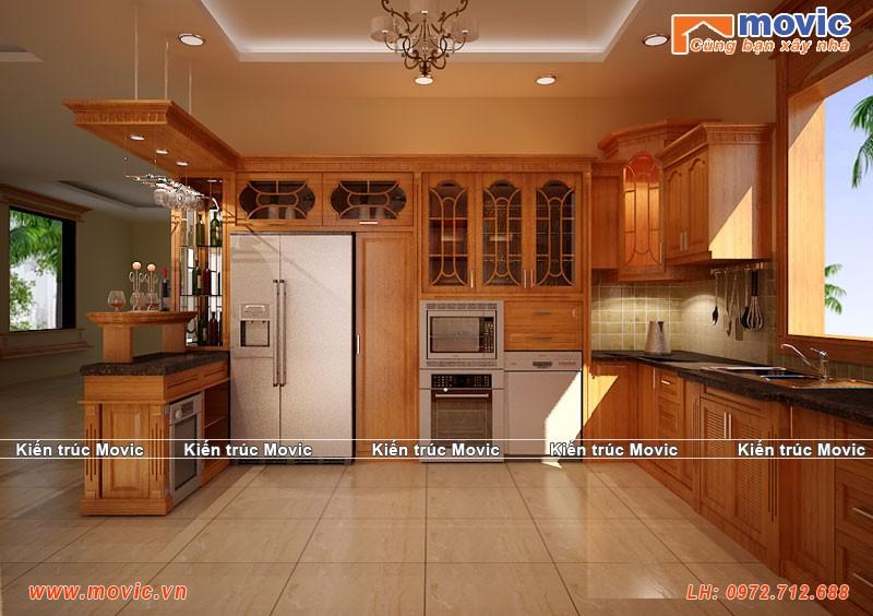 Phối cảnh phòng bếp