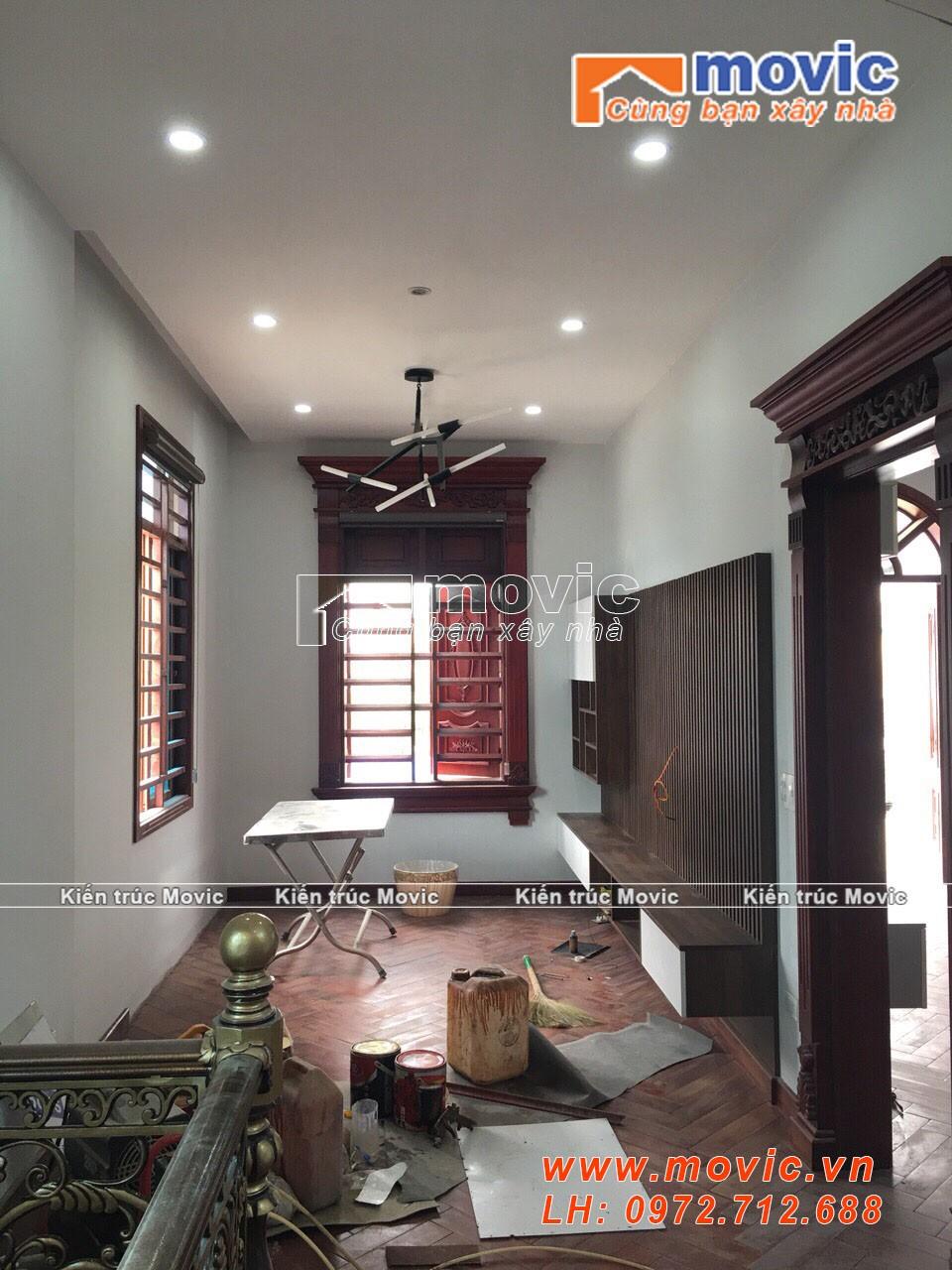 Mẫu nhà 3 tầng hiện đại đẹp, mái thái với 04 phòng ngủ