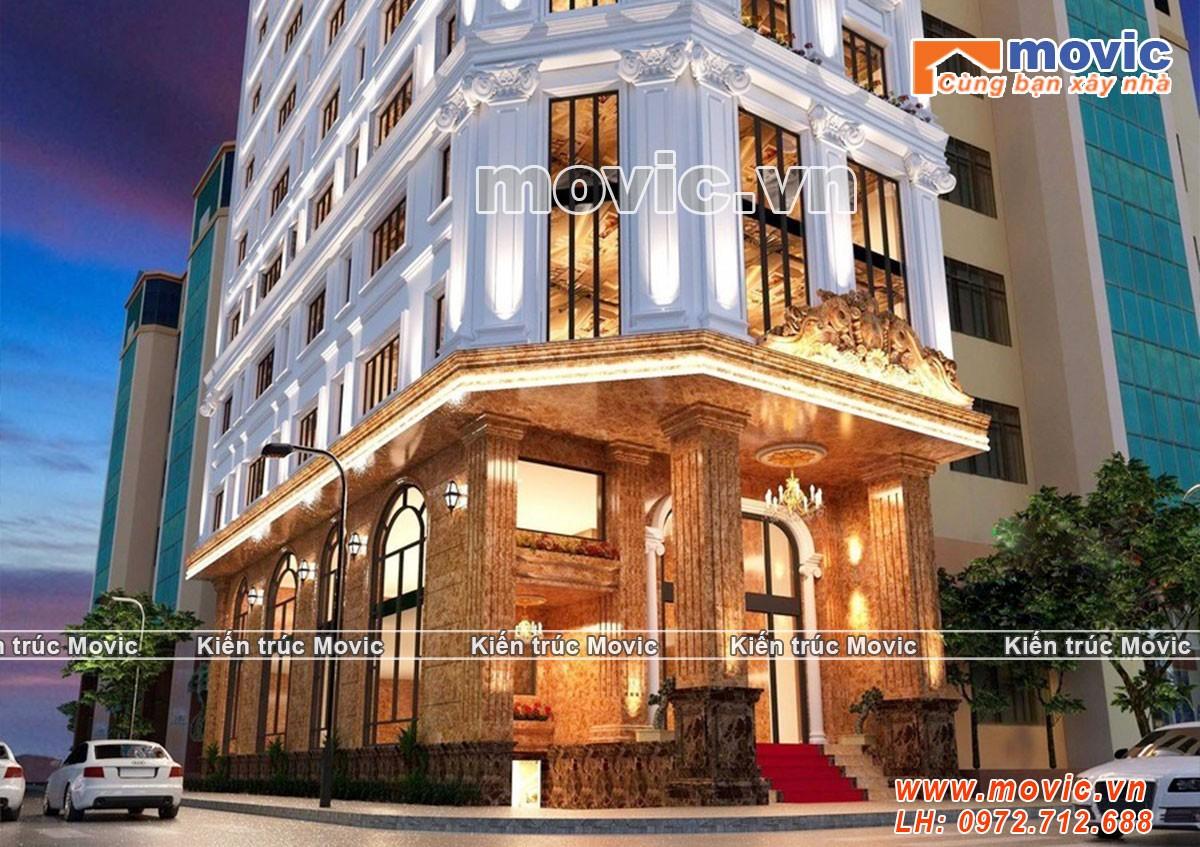Mẫu khách sạn phong cách tân cổ điển đẹp chuẩn 5 sao