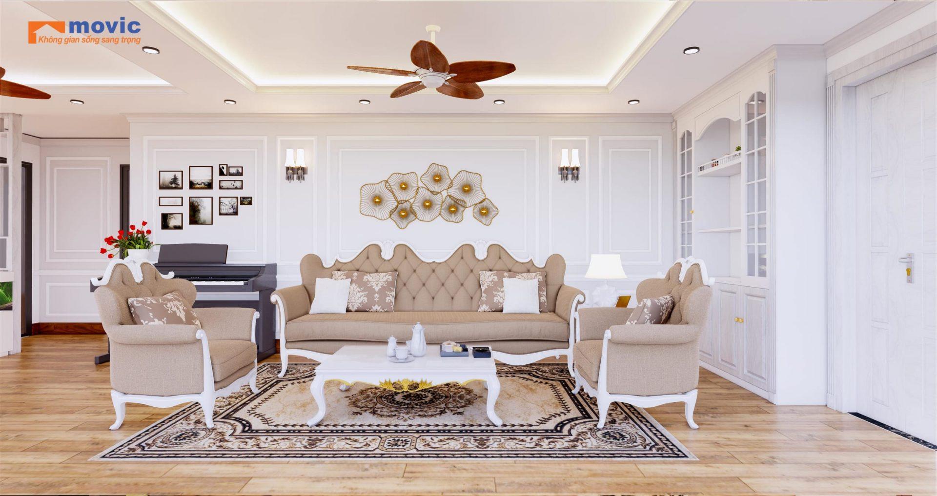 Mẫu nội thất chung cư hiện đại